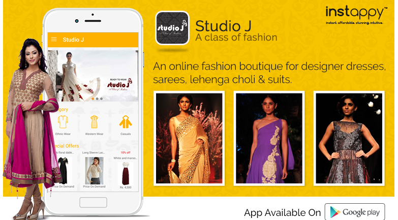 Studio J App – Push-Button Fashion