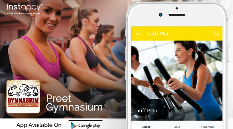 Preet Gymnasium App – A Complete Fitness Center